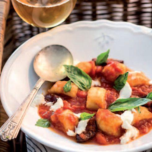 Paradajky & olivy, zemiakové gnocchi